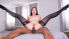 Cassie Fire getting Anal Lessons by a BBC