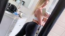 Casting Thicc Booty Fitness Girl Kenzie Madison