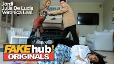 Fake Telenova Latina Babes fight over jordi el nino polla in hot 3some