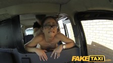FakeTaxi Horny Spanish lady does anal