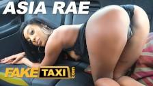 Fake Taxi Hot ebony babe Asia Rae fucked and sprayed with hot jizz